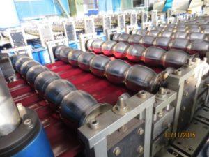 Наше производство металлочерепицы