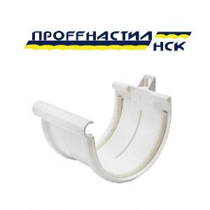 соединение желоба с уплотнителем